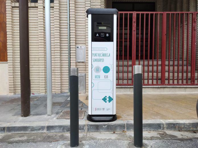 cargar coche electrico bellreguard