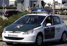 Guardia Civil coche