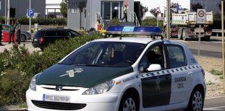 Guardia Civil coche