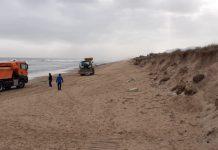 cadáver playa oliva
