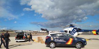 policia nacional helicóptero