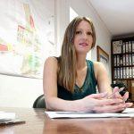 Ana Morell, regidora d'Hisenda de l'Ajuntament d'Oliva