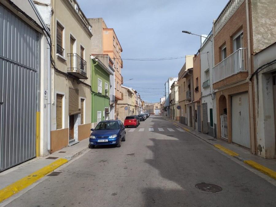 Beniflà obras Avenida Regne Valencia