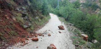 derrumbes vía verde villalonga