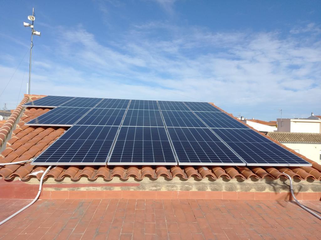 placas solares ayuntamiento Beniflà