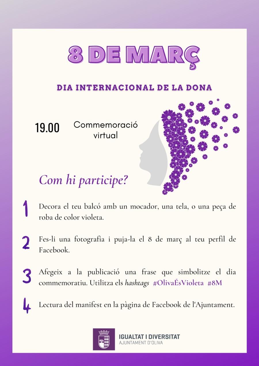 Oliva 8M Día Mujer