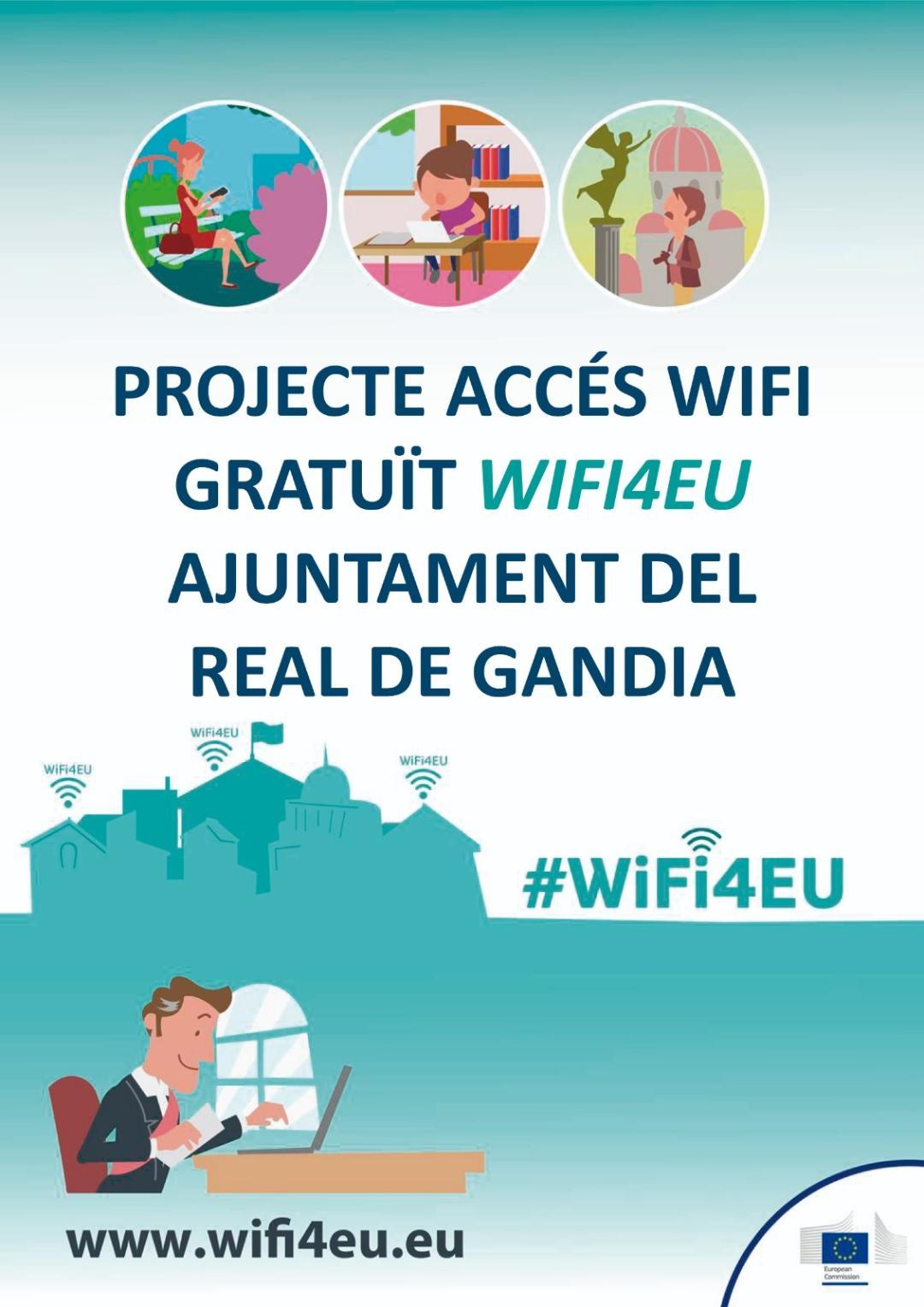Real Gandia wifi gratuito público