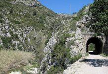vía ferroviaria de Alcoi