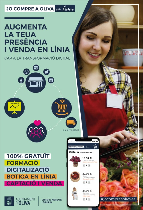 campaña digitalización comercio local oliva